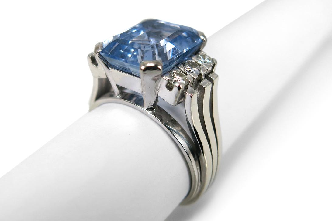 Ring-Brillanten-insg-0-36ct-G-H-vvsi-vsi-Saphir-DeGEB-Gutachten-BRORS-15729 Indexbild 2