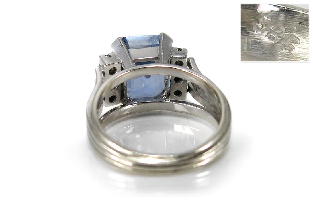 Ring-Brillanten-insg-0-36ct-G-H-vvsi-vsi-Saphir-DeGEB-Gutachten-BRORS-15729 Indexbild 4