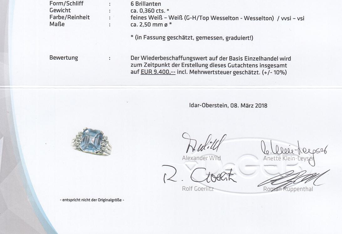 Ring-Brillanten-insg-0-36ct-G-H-vvsi-vsi-Saphir-DeGEB-Gutachten-BRORS-15729 Indexbild 6