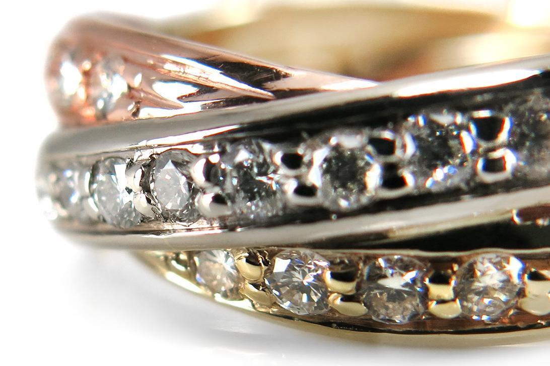 Ring-Brillanten-insg-0-40ct-H-vs-585-Gelbgold-Weissgold-Rotgold-BRORS-16052 Indexbild 3