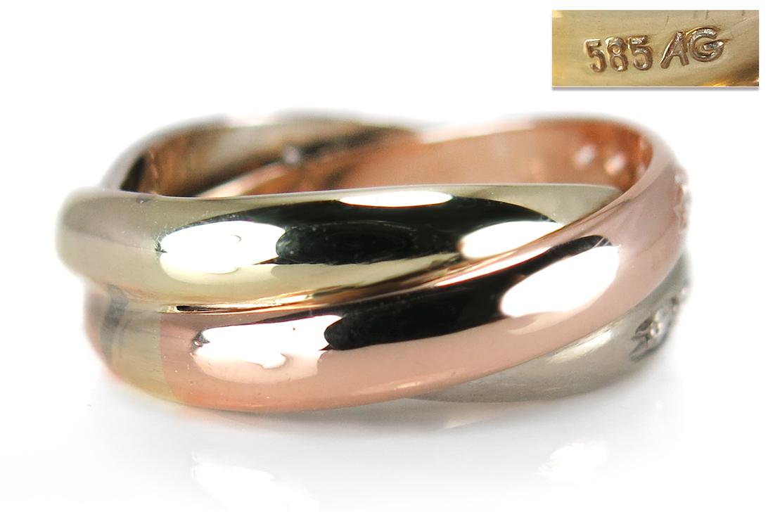 Ring-Brillanten-insg-0-40ct-H-vs-585-Gelbgold-Weissgold-Rotgold-BRORS-16052 Indexbild 4