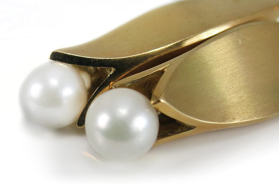 Juweliers-Ohrhaenger-Akoya-Perlen-750-Gelbgold-Handarbeit-BRORS-16213 Indexbild 3
