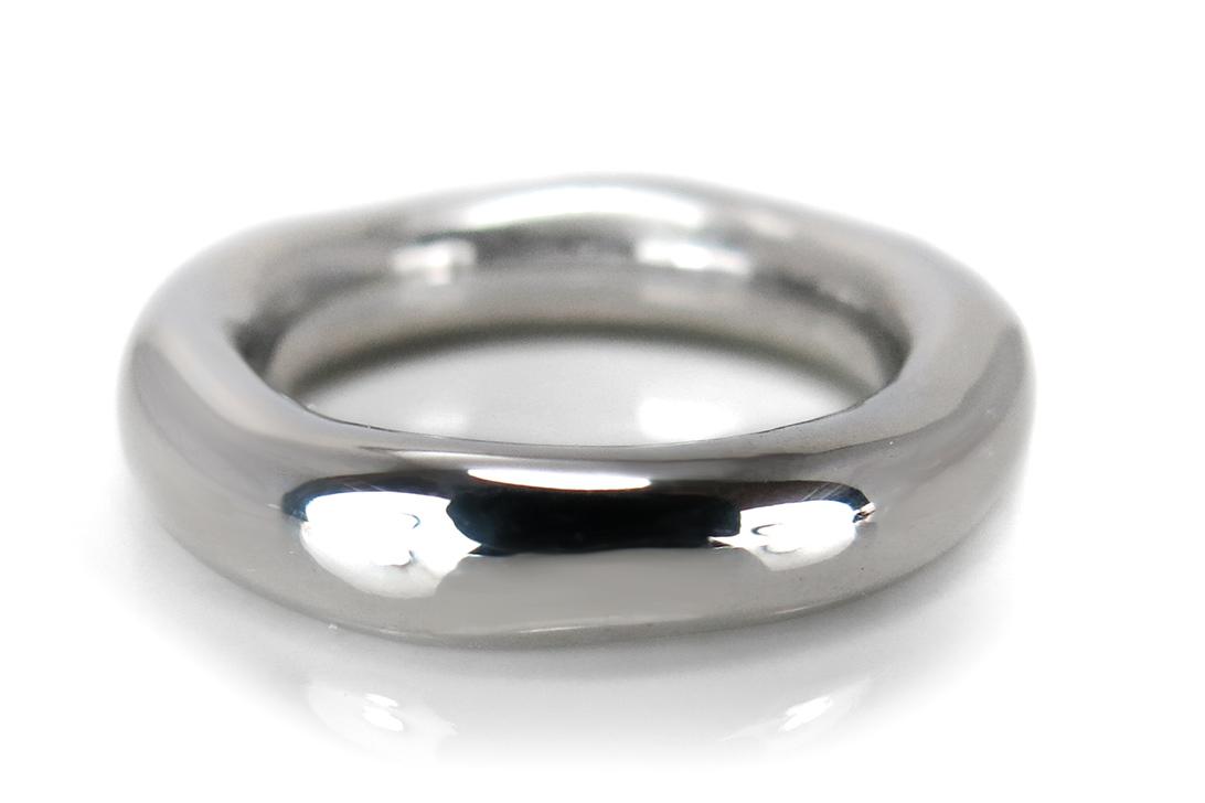 SILBERMOOS Ring Damen Wellen Schlange Verlobung Schlange Sterling Silber 925