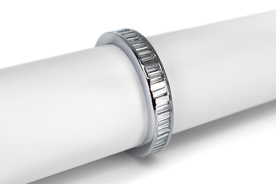 Memory-Ring-Diamanten-insg-1-0ct-Wesselton-si-750-Weissgold-BRORS-16825 Indexbild 2