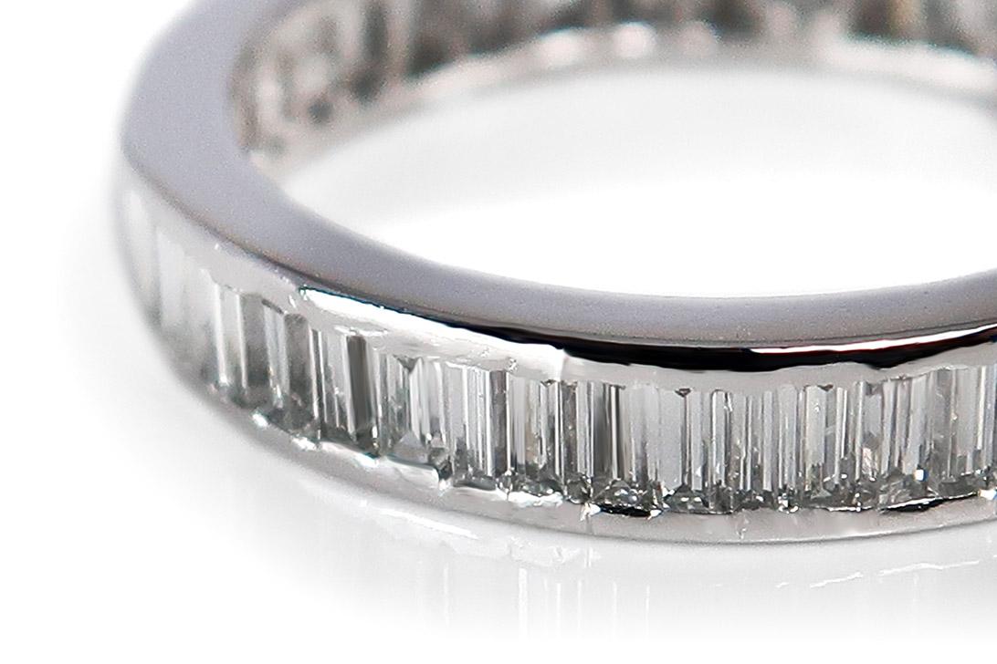 Memory-Ring-Diamanten-insg-1-0ct-Wesselton-si-750-Weissgold-BRORS-16825 Indexbild 3