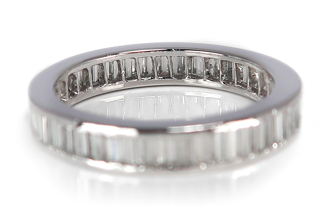Memory-Ring-Diamanten-insg-1-0ct-Wesselton-si-750-Weissgold-BRORS-16825 Indexbild 4
