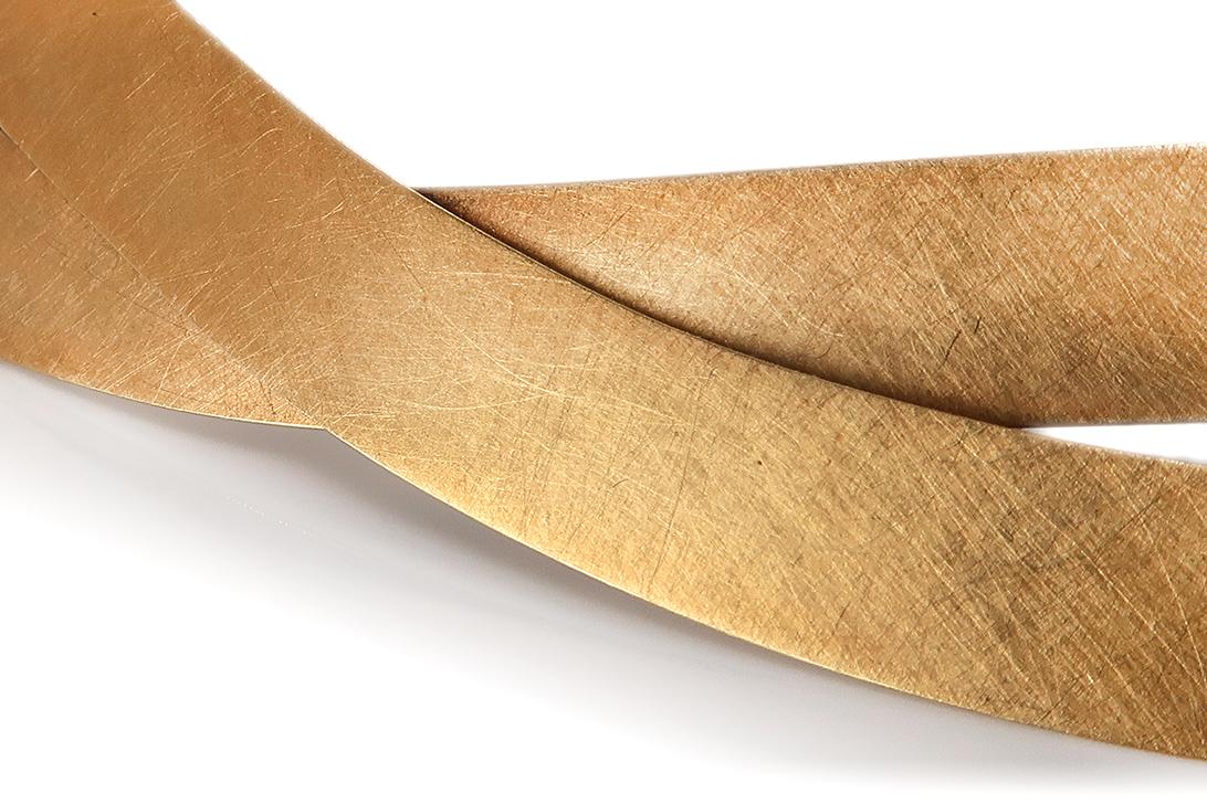 Niessing-Flechtschmuck-Halsreif-750-Gelbgold-BRORS-17213 Indexbild 3